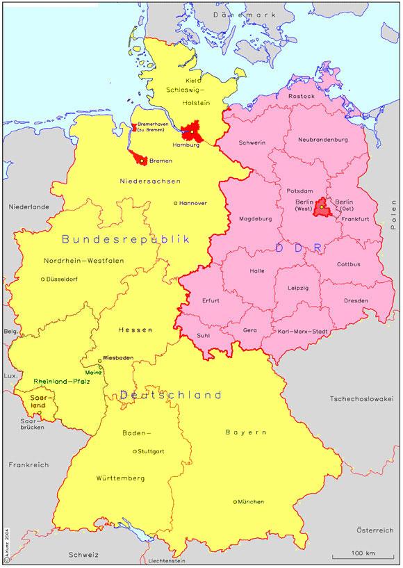 Heloohaloo 25 Afbeeldingen Kaart Oost Duitsland